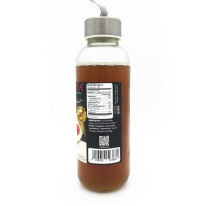 Myristica Live Probiotic Juice - side view