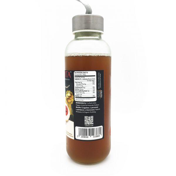 Myristica Live Probiotic Juice - side view